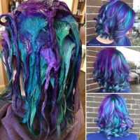 17 Best ideas about Blue Purple Hair on Pinterest