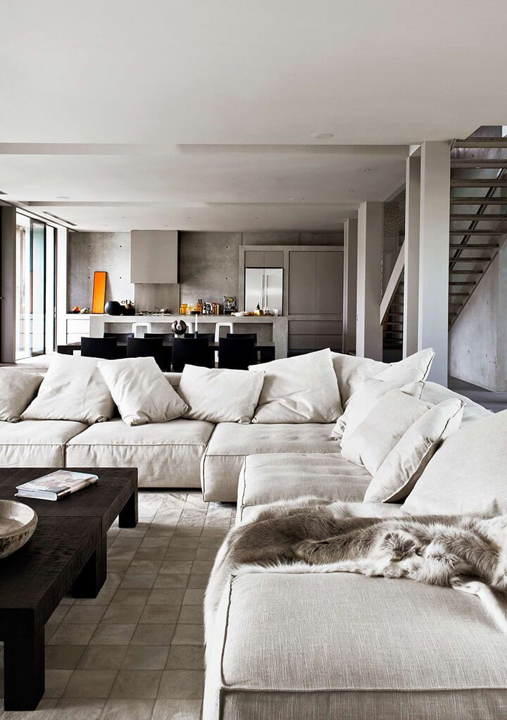 Big Sofa Escape 1000+ Ideas About Minimalist Living Rooms On Pinterest