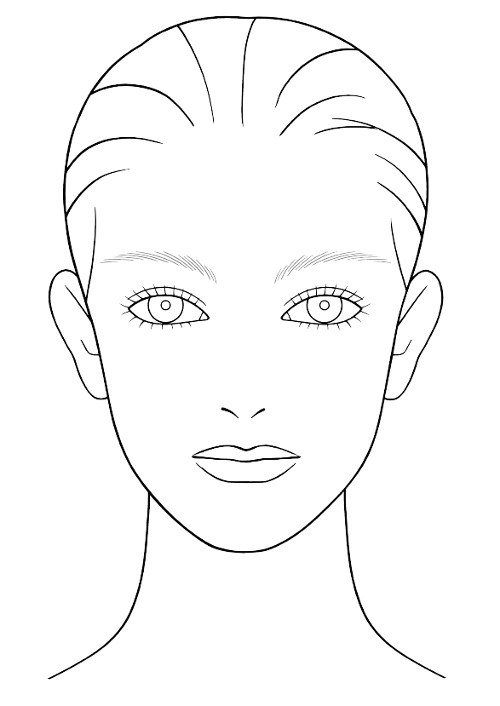 nohanoor makeup mac face charts i like