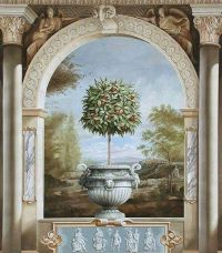 1000+ images about Interior Trompe L'oeil Murals on ...