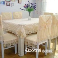 Quality ! Table Cloth Chair Cover Cushion Dining Table ...