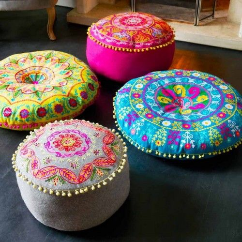 Cojines Indios 41 Cool Idea To Decorate Your Place With Floor Pillows