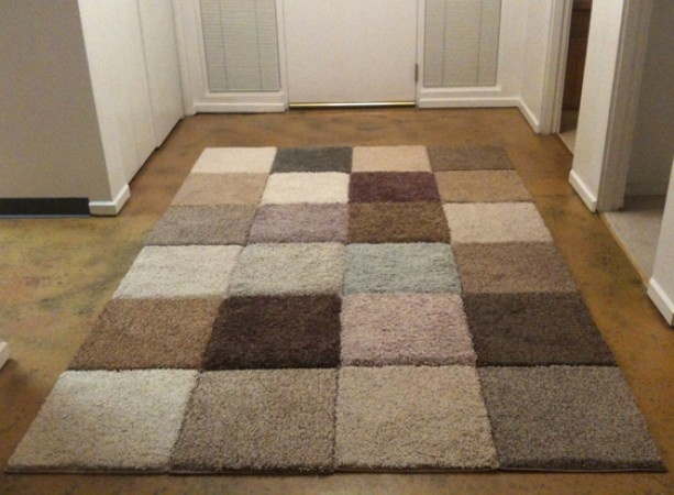How To Put Area Rug On Carpet Carpet Vidalondon