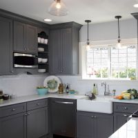 25+ best ideas about Gray Kitchen Cabinets on Pinterest ...