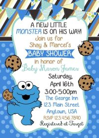 Best 10+ Monster baby showers ideas on Pinterest