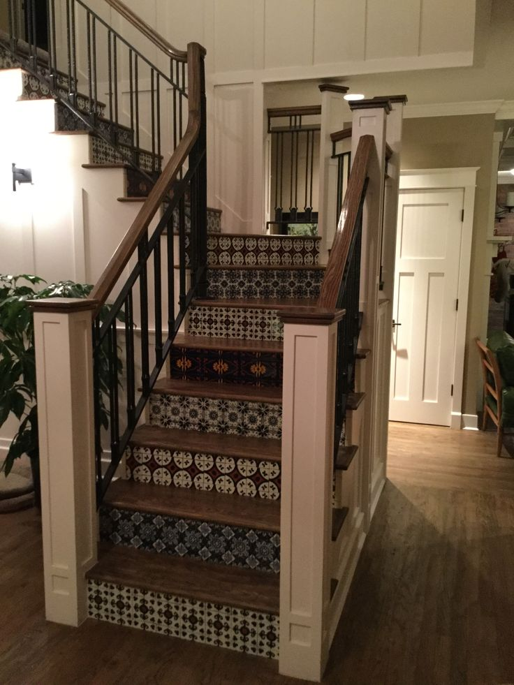 17 Best images about Mexican Tile Stairs on Pinterest