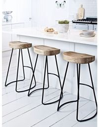 25+ best ideas about Wooden bar stools on Pinterest