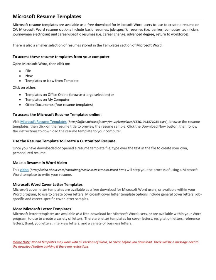 cv cover letter template download - Free Cover Letter Template Microsoft Word