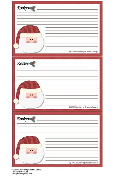 17 Best images about RECIPE CARDS & TEMPLATES on Pinterest | Printable recipe cards, Mason jar ...