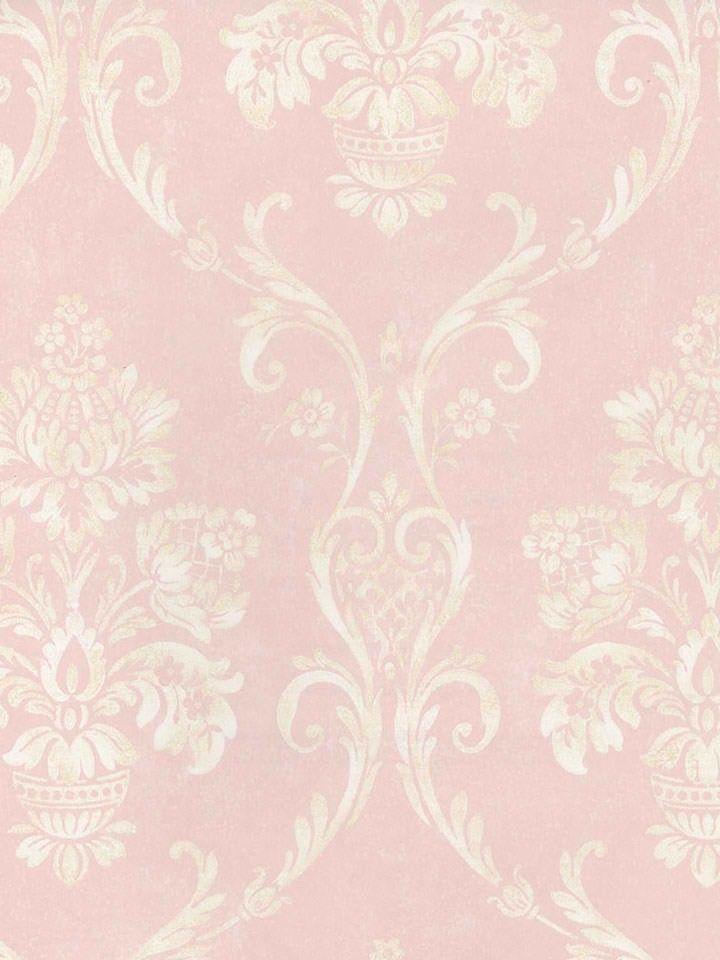 Fall Wallpaper Pintrest Interior Place Soft Pink Floral Damask Wallpaper 29 99