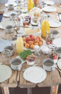 25+ best ideas about Brunch Table Setting on Pinterest ...