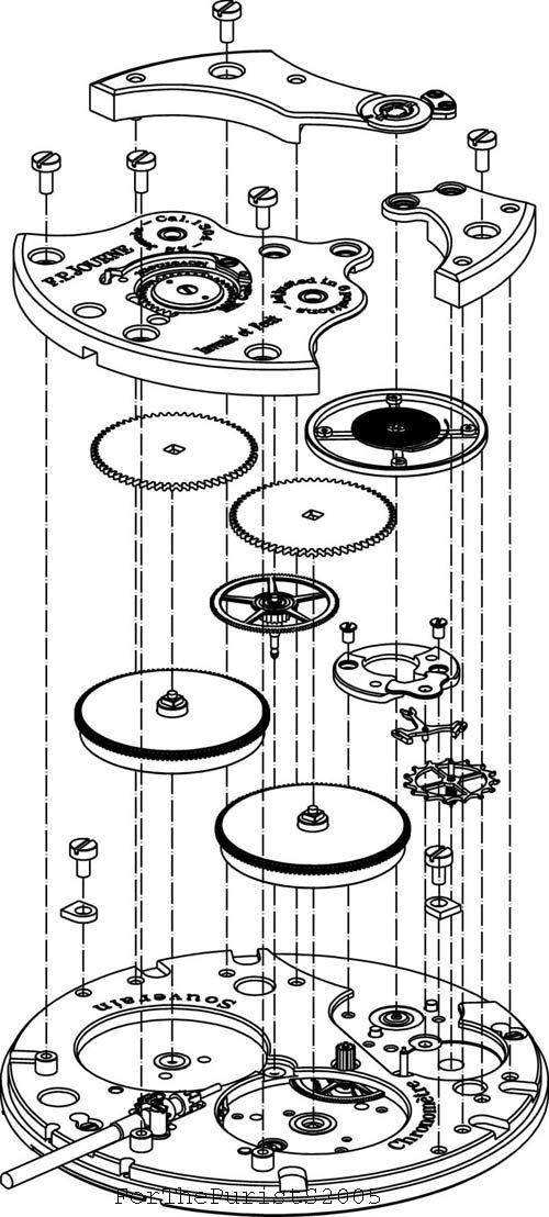 clock schematics