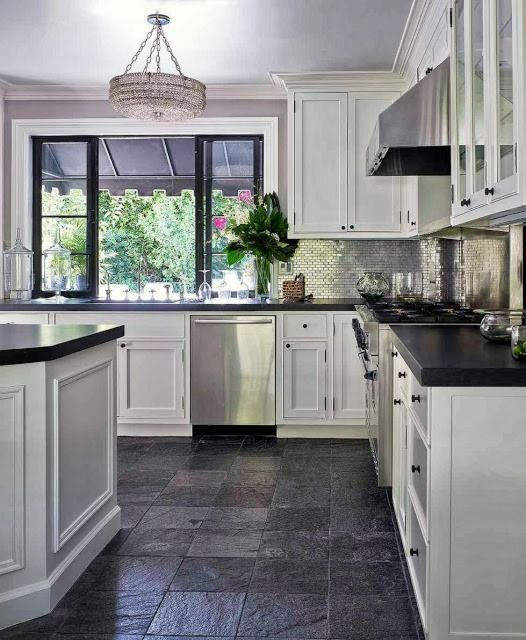 Kitchen Floor Ideas With Gray Cabinets The 25+ Best Grey Kitchen Floor Ideas On Pinterest | Grey