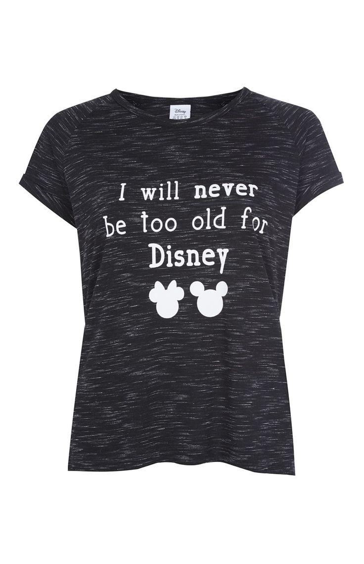 Black light t shirt ideas - Black Light T Shirt Ideas Primark T Shirt Never Too Old For Disney Noir Download