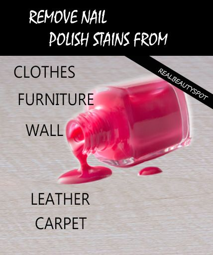 Get Rid Of Nail Polish Stains Remove Gel Polish Nail