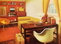 1970s living room | superseventies:1970s office/living ...