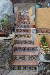100+ ideas to try about Tile Stairs | Mosaic stairs ...