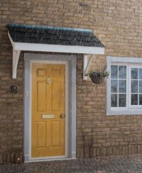 Simple Flat roof Porch Canopy {porch canopy kits} | THE ...