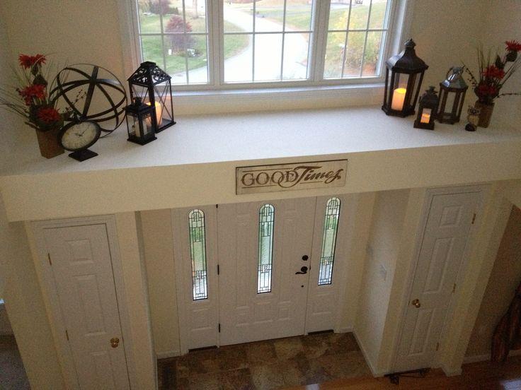 Foyer ledge 1