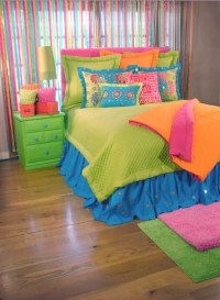 Colorful bedding for girls rooms | Kids Room Decor Ideas ...