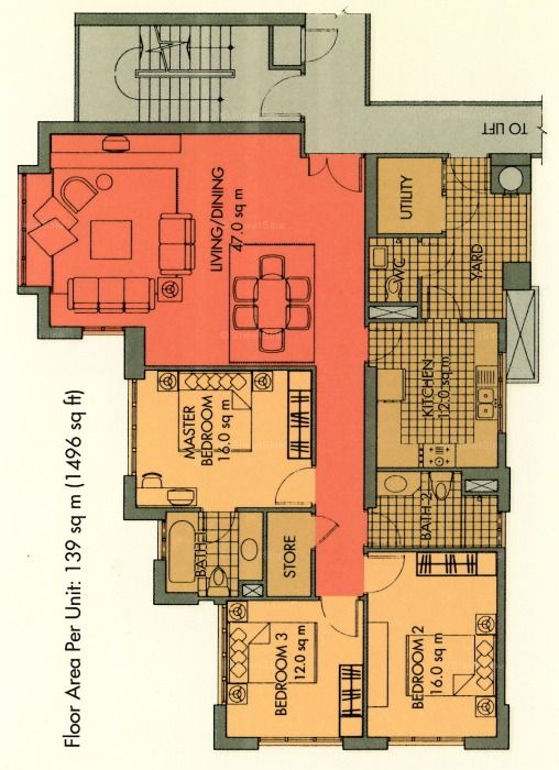 Housing Floor Plans Layout Mirage Tower Condo Floor Plan | Mirage Tower (singapore