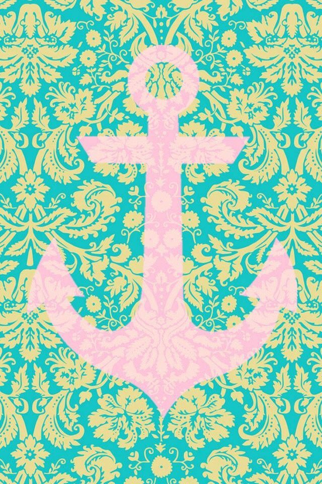 Lilly Pulitzer Quotes Wallpaper Anchor Pink And Green Iphone Wallpapers 4 4s Pinterest