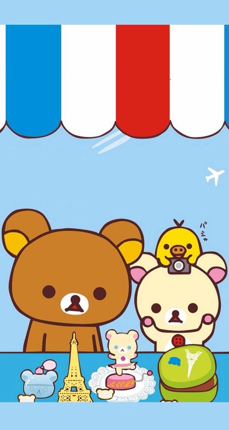 Brown Wallpaper Iphone X 画像 キイロイトリ画像・イラスト・壁紙など総まとめ【リラックマ】 Naver まとめ