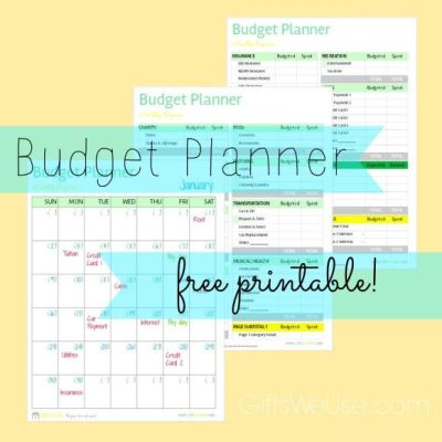 Budget Planner   Gifts We Use   Dave Ramsey   Pinterest   Gifts, Free printables and We