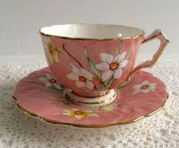 Antique Aynsley China Tea Cup & Saucer   Beautiful, Tea ...