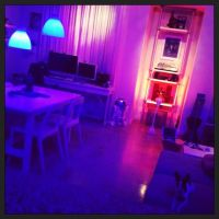 'Having way too much fun with my iphone controlled HUE led ...