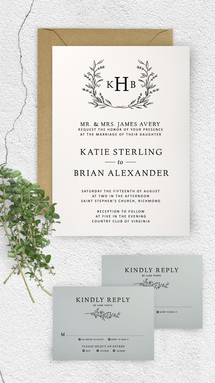 Michaels crafts wedding invitations - Michaels Crafts Wedding Invitations Wedding Invitations Michaels Craft Store Monogram Wedding Invitation Template Wreath Wedding
