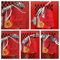 Basketball locker decorations. | High school spirit ...