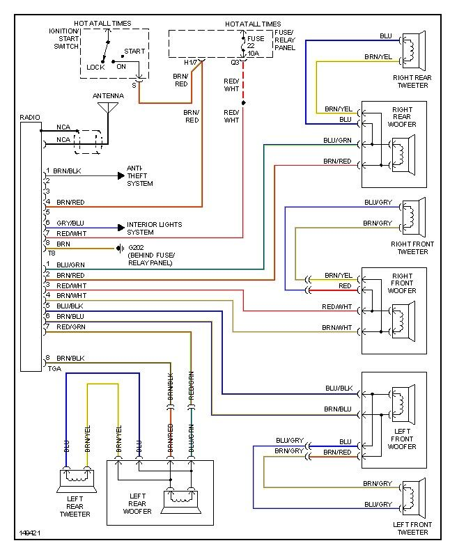 2006 vw jetta radio wiring diagram pics
