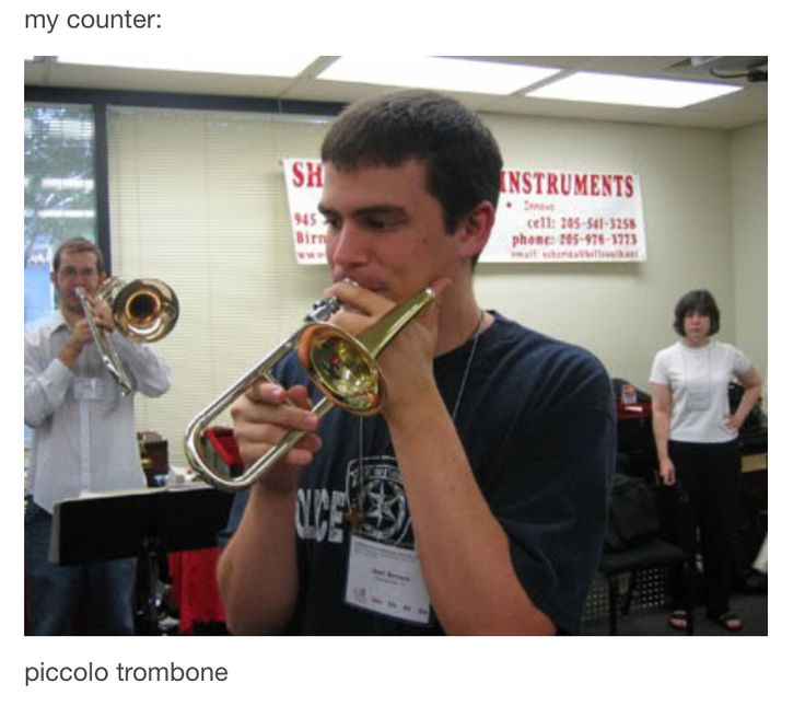 Cute Trumpet Wallpapers Piccolo Trombone Soo Cute Band