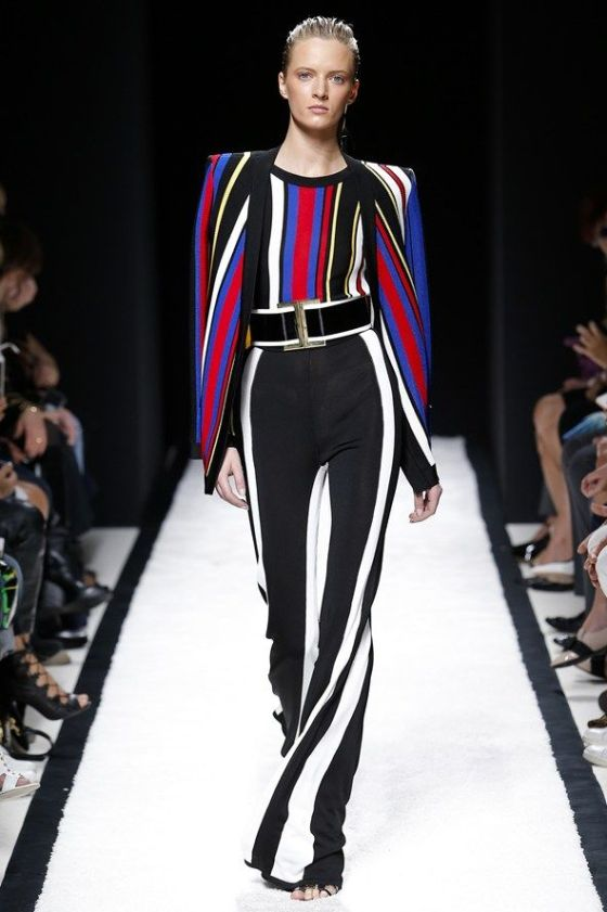 I kill for those pants! Balmain womenswear, spring/summer 2015, Paris Fashion Week