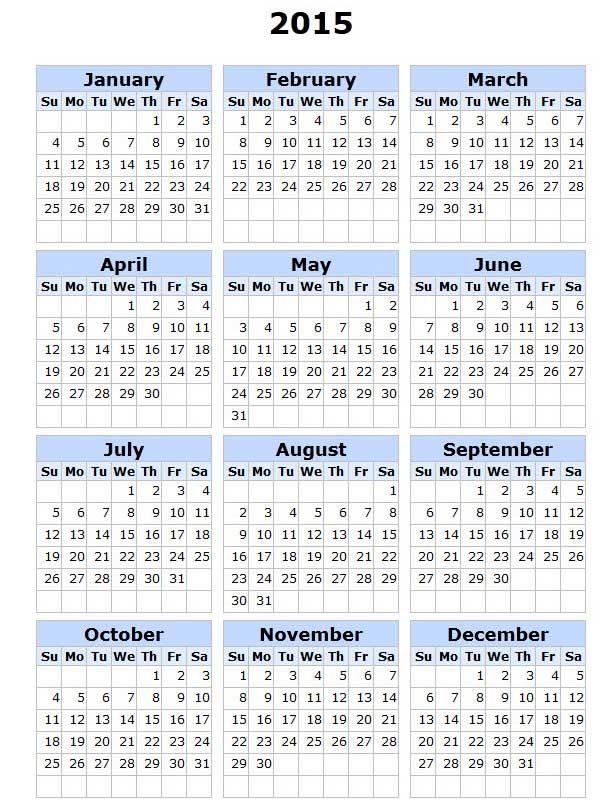 How To Make A New Google Calendar Month Google Printable 2015 Calendar Calendars Pinterest Calendar