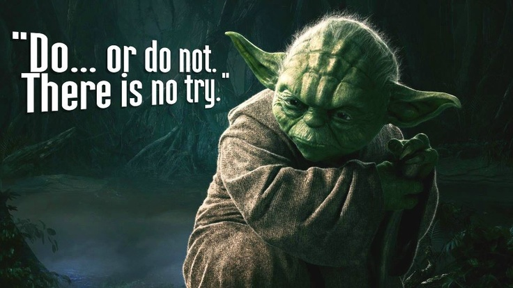 Motivation Business Quotes Wallpaper Hd Desktop Best Learning Quote From Master Yada Star Wars