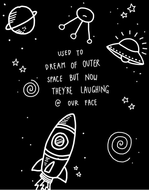 Falling Astronaut Iphone Wallpaper Stressed Out Twenty One Pilots Google Search Lyrics N