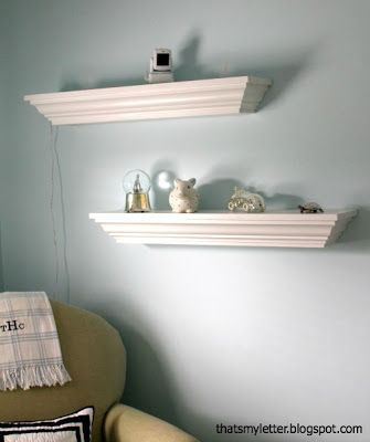 25 Best Ideas About Crown Molding Shelf On Pinterest