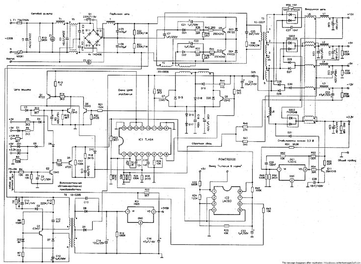 led circuit diagram dancing