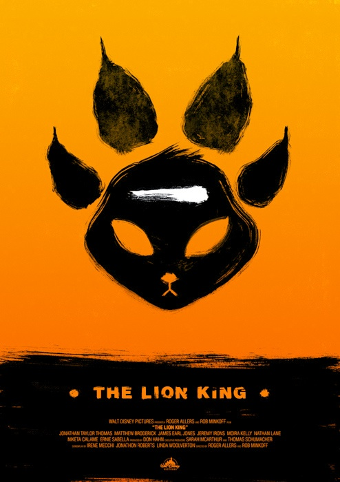 the lion king movie poster art project