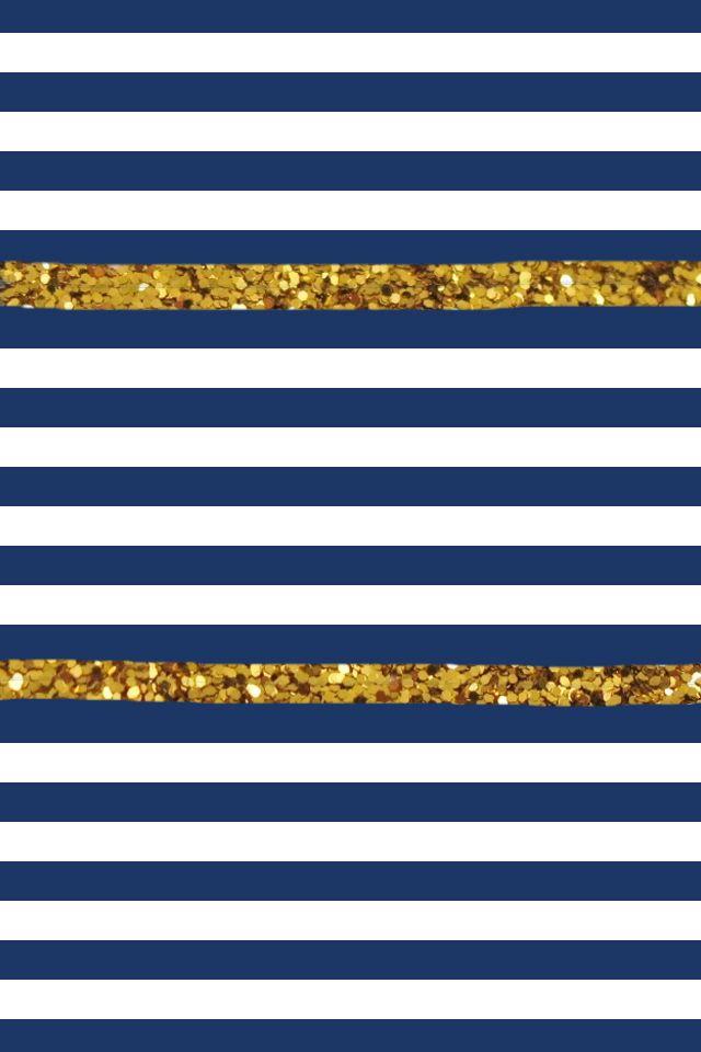 How To Make Wallpaper Fit On Iphone 6 Stripes Glitter Phone Wallpapernavy 640x960 Jpg 640 215 960