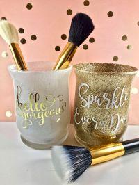 25+ best Makeup brush holders ideas on Pinterest