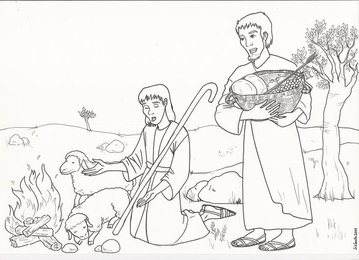 √ Bible Coloring Pages Cain Abel