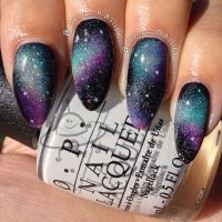 25+ best ideas about Galaxy nails on Pinterest | Space ...