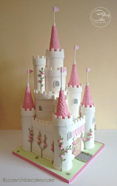 Princess Castle Cake by CakeyCake | Cakes & Cake Decorating ~ Daily Inspiration & Ideas ...