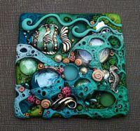 Coral Sea Tile - Photos - Polymer Clay Adventure | Polymer ...