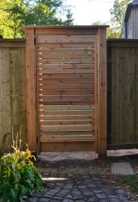 Louver wood fences a fence design gallery privacy fence ...