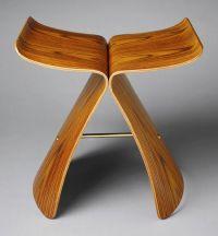 """Sori Yanagi: """"Butterfly"""" stool 1956   Heilbrunn Timeline ..."""