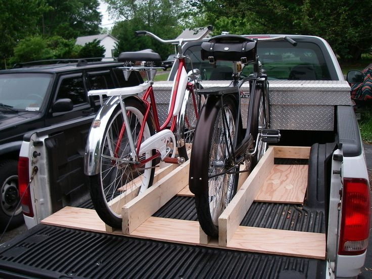1000 Ideas About Truck Bed Bike Rack On Pinterest Bike